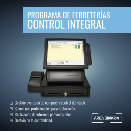 Programa de ferreterías Control Integral